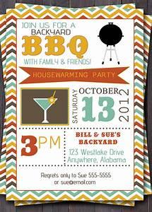 Bbq Party Invitation Invite Birthday Baby By