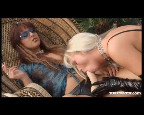Lesbian On Chain Leash Ass Fucked By Strapon Chain Porn