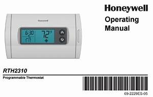 Honeywell Rth2310 Manual
