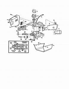 Craftsman Model 13953976srt Garage Door Opener Genuine Parts