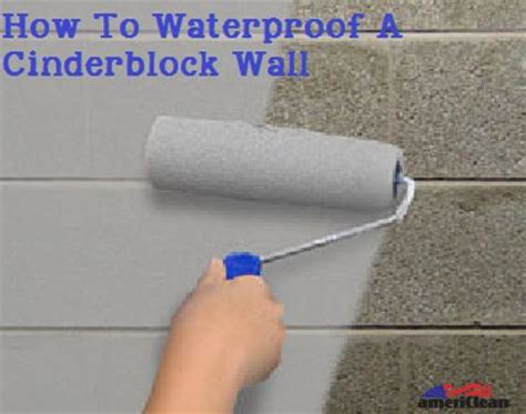 How To Remove Mold From Basement by How To Waterproof A Cinderblock Wall Americlean Inc