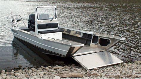 Alu Werkboot by Research 2015 Thunderjet Boats Landingcraft 22 On