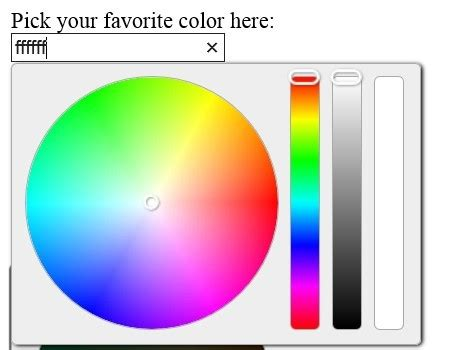 fashion jquery color picker selector plugin wheel