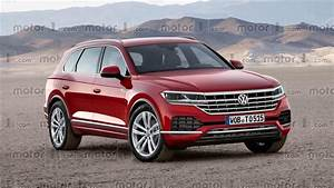 Ww Touareg : 2018 vw touareg will probably look a lot like this ~ Gottalentnigeria.com Avis de Voitures