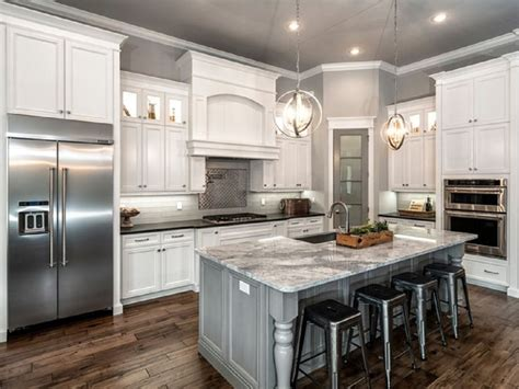 grey and white kitchen ideas l shaped kitchen remodel with white cabinet and