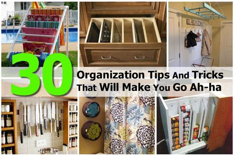 organization techniques 30 organization tips and tricks that will make you go ah ha