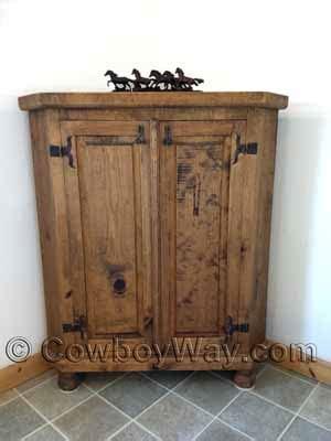 rustic corner cabinets  sale