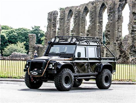 range rover defender ex james bond spectre land rover defender svx