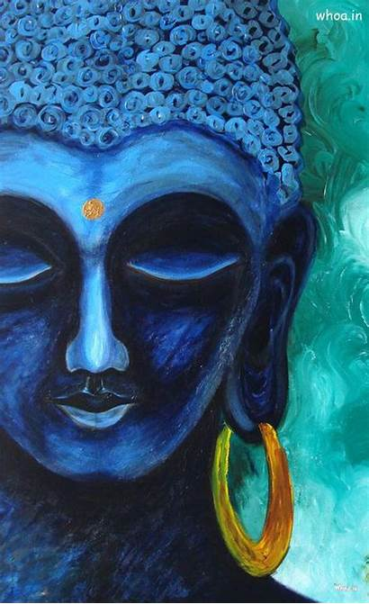 Buddha Lord Painting Wallpapers Desktop Background God