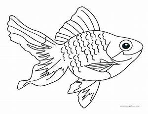 Saltwater Fish Coloring Pages At Getcoloringscom Free