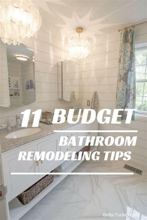 budget bathroom remodel  future dream house budget