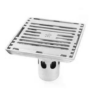 unique bargains kitchen bathroom stainless steel sink floor water waste square drain strainer