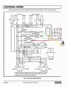 42dea Ez Go Golf Cart 36 Volt Wiring Harness Diagram