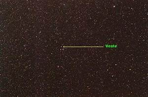 Starry Night Photography - Asteroid Vesta