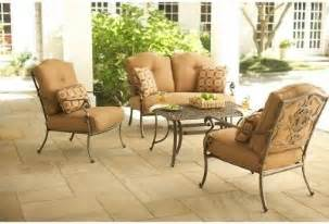 martha stewart living patio tables miramar ii 4 piece