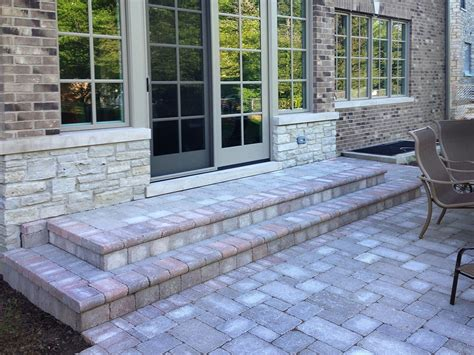 Unilock Paver Installation by Hardscape Installation In Northbrook Landscaping And