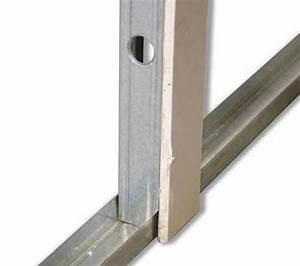 Pose De Placo Sur Rail : comment poser rail et montant pour placo la r ponse est ~ Carolinahurricanesstore.com Idées de Décoration