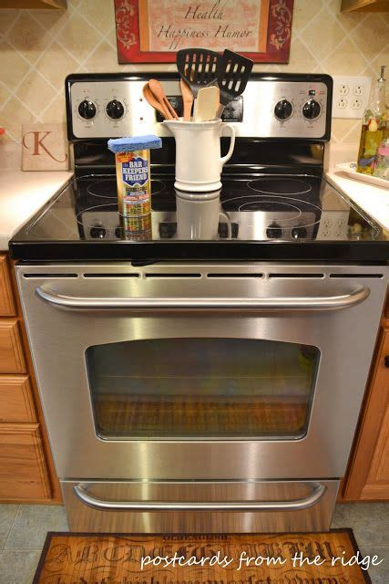 keepers friend cooktop how to clean your glass cooktop glass cooktop and pennies