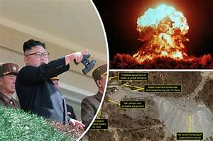 North Korea nuclear test site images REVEALED: War fears ...