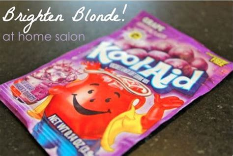 How To Brighten Blonde With Kool Aid