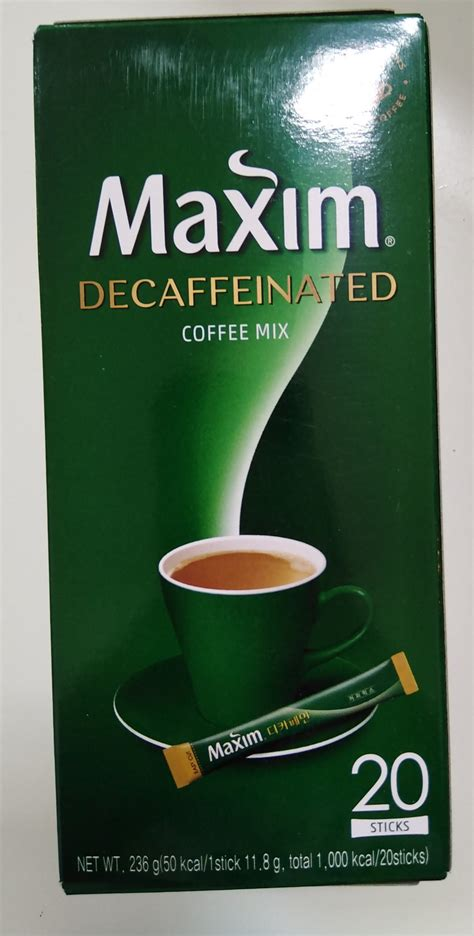 ₹4500 exclusive of gst 18%. Maxim Coffee decaf 240g - Vision Mart