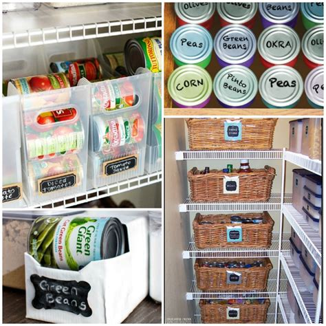 kitchen food storage ideas 17 canned food storage ideas to organize your pantry