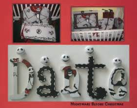 Nightmare Before Christmas Nursery Decor