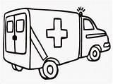 Ambulance Coloring Pages Realistic Gambar Printable Mewarnai Buku Gratis Titan Posted sketch template