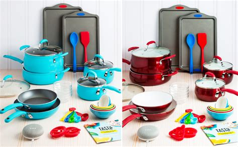 tasty  piece cookware set google home mini    shipping reg