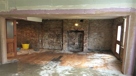 remove internal load bearing wall  picture