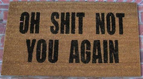 oh not you again doormat oh not you again doormat modern doormats