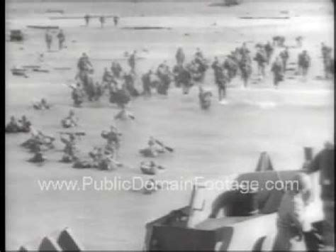 storming  beaches   day ii public domain archival
