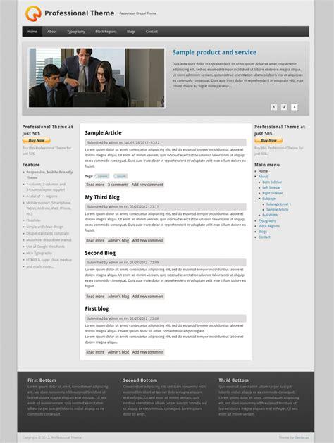 drupal templates best free drupal 7 themes internetdevels official