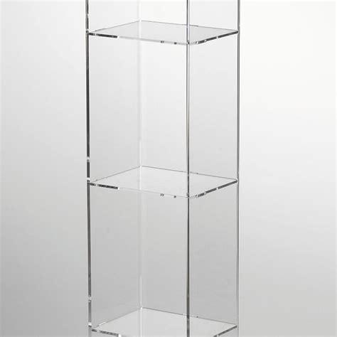 libreria in plexiglass libreria porta cd 17x13 5xh123 5 cm basic in plexiglas 5