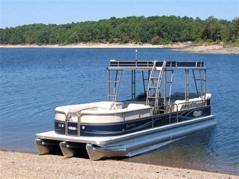 Used Pontoon Boats With Upper Deck For Sale by 31 Best Upper Decks On Pontoon Boats Images On Pinterest