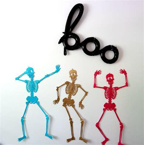 diy dollar store spooky skeletons  life  kids