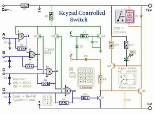 Electronic Circuit Schematic  Electronic Circuit   4 Digit