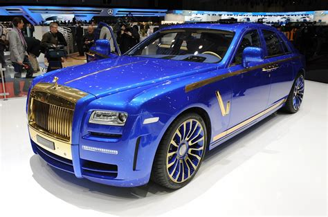 mansory rolls royce ghost blinged at geneva show