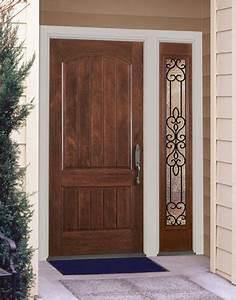 natural wood front door design home pinterest wood With entry door designs for home