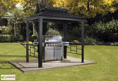abri pour barbecue exterieur abri pour barbecue aluminium et acier galvanis 233 messina 2 x 3 m sojag