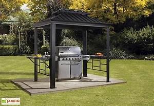 Prix D Un Barbecue : abri pour barbecue aluminium et acier galvanis messina 2 ~ Premium-room.com Idées de Décoration