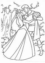 Coloring Prince Pages Princess Sleeping Beauty Aurora Phillip Printable Philip Dancing Drawing Sheets Dance Colouring Forest Disney Colornimbus Colour Children sketch template