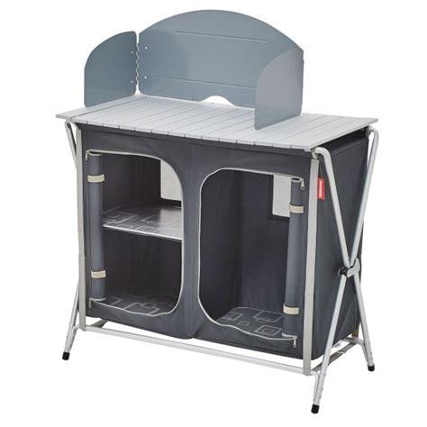 trigano meuble cuisine pliant pour camping  caravane