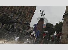 Alerta roja en Málaga por lluvias y aviso naranja o