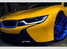 Colorful Modified BMW i8 By Turner Motorsport Is Up For