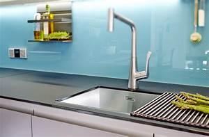 Kuchennische glas haus ideen for Küchennische glas
