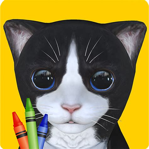 cara mewarnai kucing cat