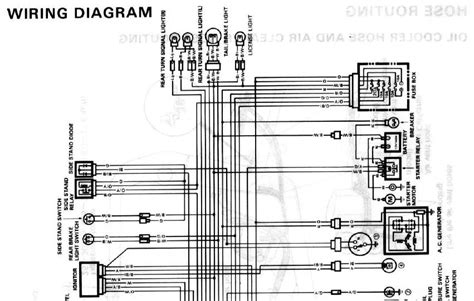 Gsxr 750 Wiring Diagram by Wanted 89 Gsxr 750 Wiring Diagram