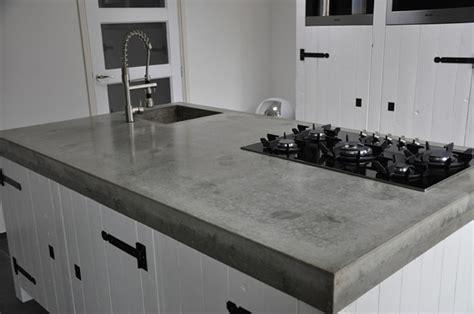 een aanrechtblad van beton kuys keukens klik hierkuys