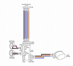 Harley Davidson Cvo Rear Tail Light 4 Pin Wiring Diagram